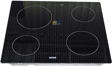 Glazen keramische plaat glasplaat met bevestigingsframe voor kookveld whirlpoolgroep/Ignis AKL499 481244039019