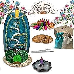 Backflow Incense Cones & Burners