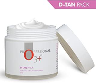 O3+ D-Tan Pack Brightening And Lightening De Tan Removal Mask With Mint And Eucalyptus Oil - Suitable For All Skin Types, 300g