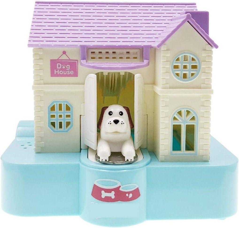 WGGTX Piggy Bank Creative Electric Villa Shipping Max 75% OFF included Puppy Birthd