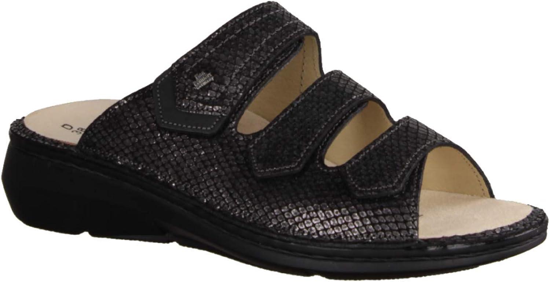 FinnComfort - Pantofole da Donna, in Pelle, Coloreee  Grigio