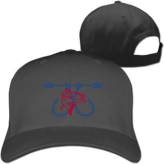 Men's Southeast Angler Fishing Bass Fishhook Adjustable Fitted Hats Baseball Cap