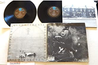 The Who Quadrophenia - Track/MCA Records 1973 - 1 Used Double Vinyl LP Record Album - 1973 Pressing MCA2-10004 With 42 Page Lyrics Booklet - Love Reign O'er Me - 5:15 - The Real Me - I've Had Enough