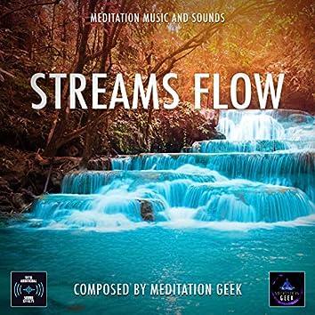 Streams Flow, Meditation Music, Sleep Sounds, Spa, Yoga
