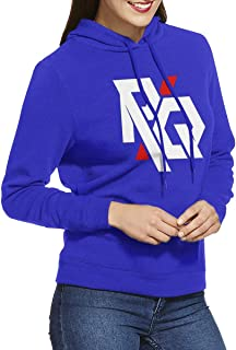 DGGE RQ Womens Hoodies Sweatshirts Clothing and Sports