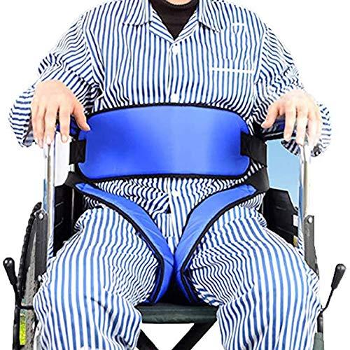 N \ A Cinturones De Seguridad para Sillas De Ruedas para Piernas, Cinturones Pélvicos Anti-Movimiento para Ancianos, Cinturones De Posicionamiento De Sillas De Ruedas para Soporte De Cintura, Muslos