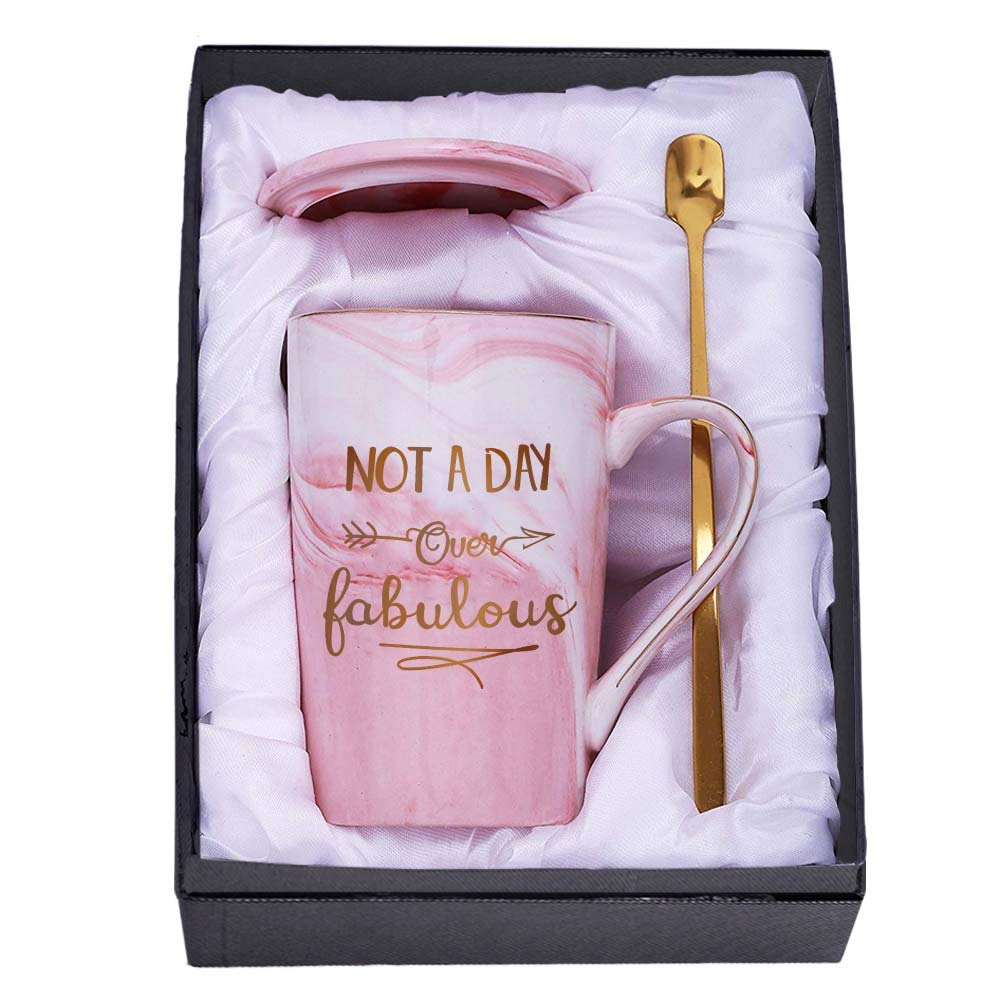 Tom Boy Birthday Gifts For Women Not A Day Over Fabulous Mug Birthday Gift Ideas For Best Friends Female Bbf Her Buy Online In Colombia At Desertcart Productid 181934461