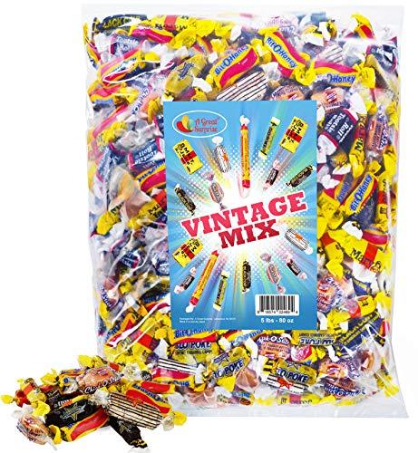 Old-Time Candy - Vintage - Nostalgic - Bulk Candy - Black Cow, Peanut Butter Bars, Slo Poke, Mary...