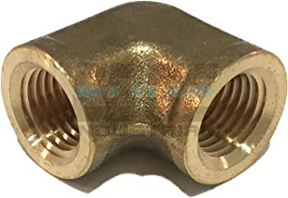 EDGE INDUSTRIAL Forged Brass Elbow 1/4