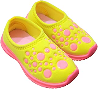 Ace Trends Kids Comfortable Shoes Slip-on/Sneakers/Loafers/Moccasins with Ultra Lightweight Socks, Breathable Fabric Casua...