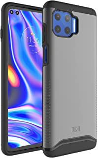 TUDIA Dual Layer Fit Designed for Moto G 5G Plus Case, [Merge] Heavy Duty Protection Slim Hard Shell Phone Case for Motoro...