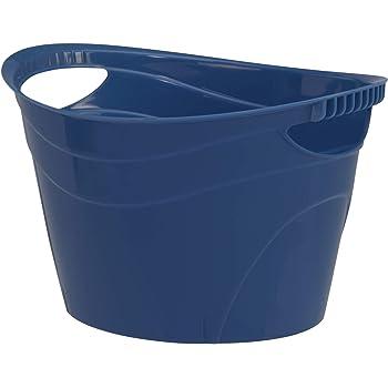 CreativeWare, Navy Party Tub 8.5 Gl, Blue, 8.5 Gallon