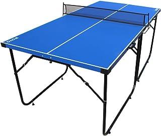 ifoyo - Tablero de tenis de mesa con patas plegables y red para niños y adultos, montaje rápido
