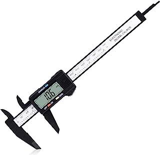 "Digital Caliper, Adoric 0-6"" Calipers Measuring Tool - Electronic Micrometer Caliper with Large LCD Screen, Auto-off Featu..."