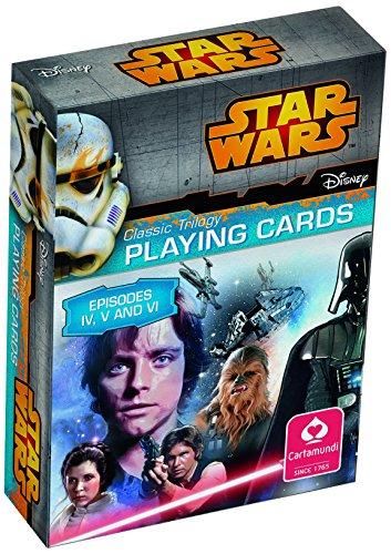 ASS Altenburger 22501577 - Star Wars Spielkarten - Episode IV-VI