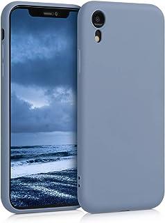 kwmobile Hülle kompatibel mit Apple iPhone XR   Handyhülle Handy Case in Blaugrau