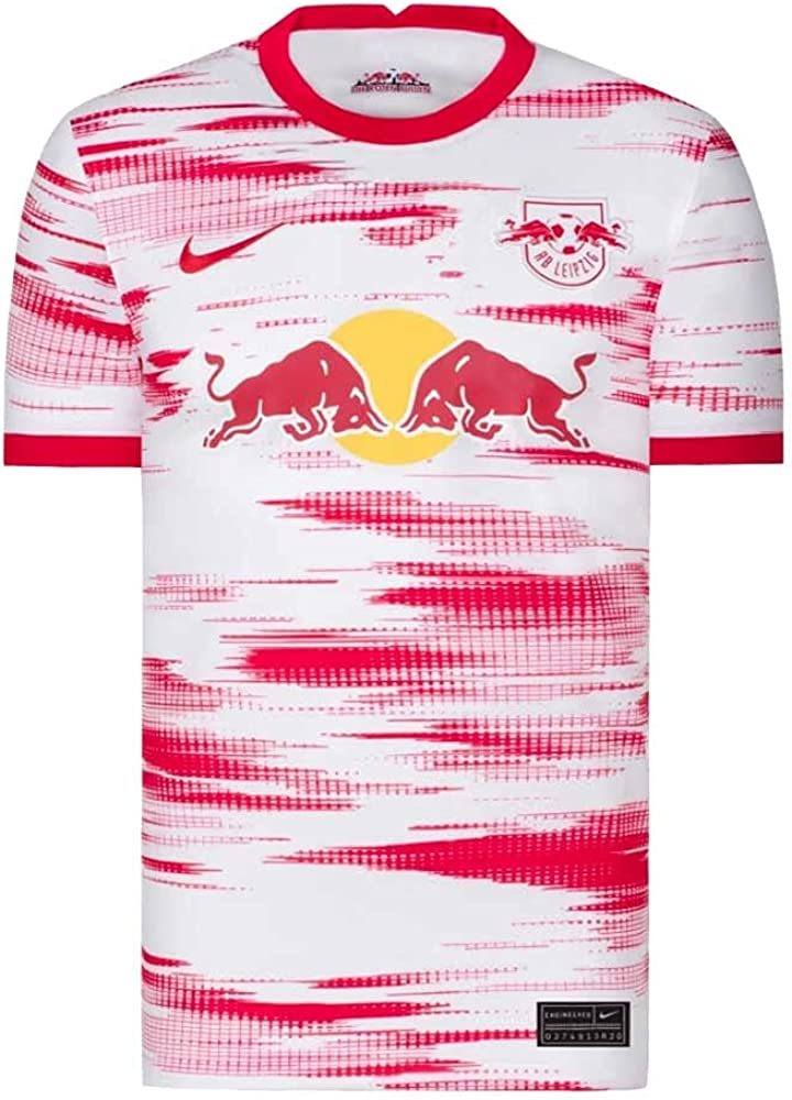 Nike Price reduction 2021-2022 Red Bull Leipzig T-Shirt Sale Special Price Soccer Home Jer Football