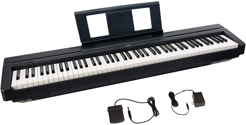 Yamaha P45 88-Key Digital Piano with Sustain Pedal