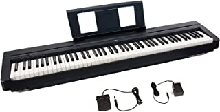 Yamaha P45 88-Key Weighted Action Digital Piano + Sustain Pedal and Power Supply (Renewed)