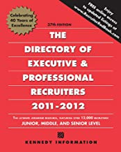 Directory of Executive & Professional Recruiters 2011-12