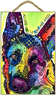 SJT ENTERPRISES, INC. German Shepherd - All You Need is Love and a Dog 7