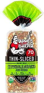 Daves Killer Bread, Bread 21 Whole Grains Thin Sliced Organic, 20.5 Ounce