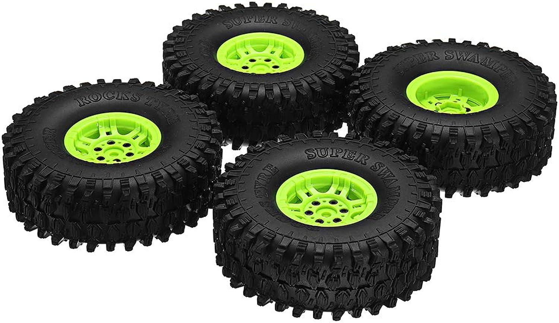 VIDOO 4Pcs Ax5020CE1.9 Inch 120Mm Rc Car Tires With Hub For 1 10 D90 Scx10 Cc01 Rc Car CrawlerE