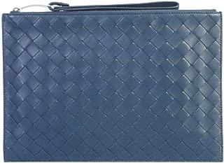 Luxury Fashion | Bottega Veneta Womens 592053VO0BM3124 Blue Clutch | Fall Winter 19