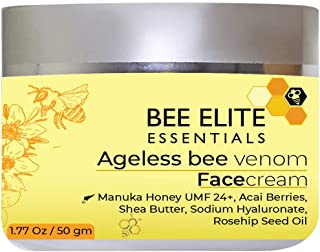Sponsored Ad - AGELESS BEE VENOM ANTI-AGING FACE CREAM with next Generation Peptides, Vitamin C, Hyaluronic Acid & Retinol...
