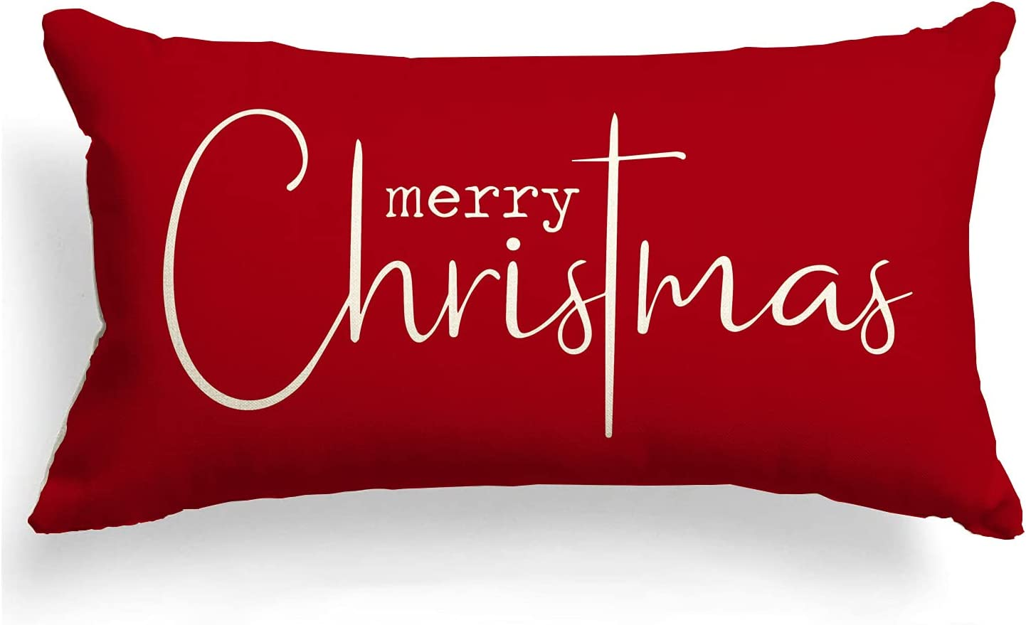 Max 40% OFF Christmas Pillow Covers Merry Decorative Super popular specialty store Throw