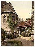 Photo Cathedral churchyard Hildesheim Hanover A4 10x8