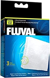 Fluval Poly Foam Pad – 3-Pack