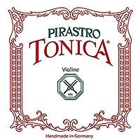PIRASTRO 412020 TONICA ヴァイオリン弦 バイオリン弦 トニカ 4/4用 Mittel セット弦 E線:ボールエンド (ピラストロ)