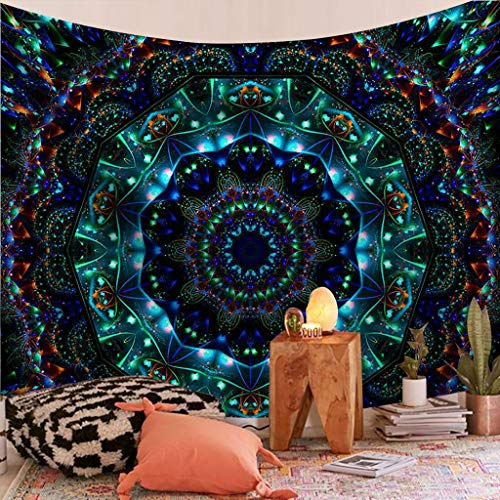 XINPLD tapestryIndian Mandala Tapestry Wall Hanging Sandy Beach Throw Rug Blanket Camping Tent Travel Mattress Bohemian Tapestries