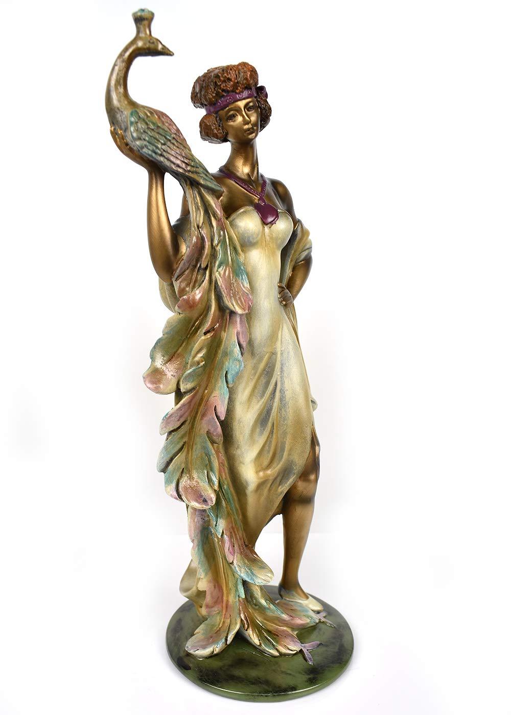 Ebros Aged Bronze Resin Nude Seductive Mermaid Statue 7.25 Tall Nautical Coastal Ocean Sea Decor Figurine Sirens Luring Maidens of The Dark Waters Fantasy Sculpture Ebros Gift