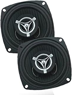 Power Acoustik EF-42 Edge Series 250 Watt 4 2-Way Coaxial Speakers