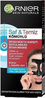 Garnier Skin Naturals Kömürlü Siyah Nokta Karşıtı Soyulabilen Maske 50ml 1 Paket (1 x 50 ml)