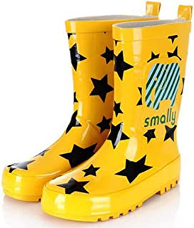 Unisex Natural Rubber Rain Boots with A Pull On Heel Tab
