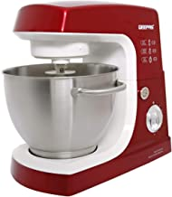 Geepas Kitchen Machine - Gsm5442, Red, Plastic Material