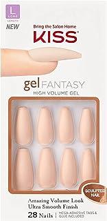 KISS Gel Fantasy Sculpted Nails, KGFS01C