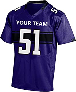 Zhijiagelily Men NFL Jersey,Custom Jersey for Unisex,