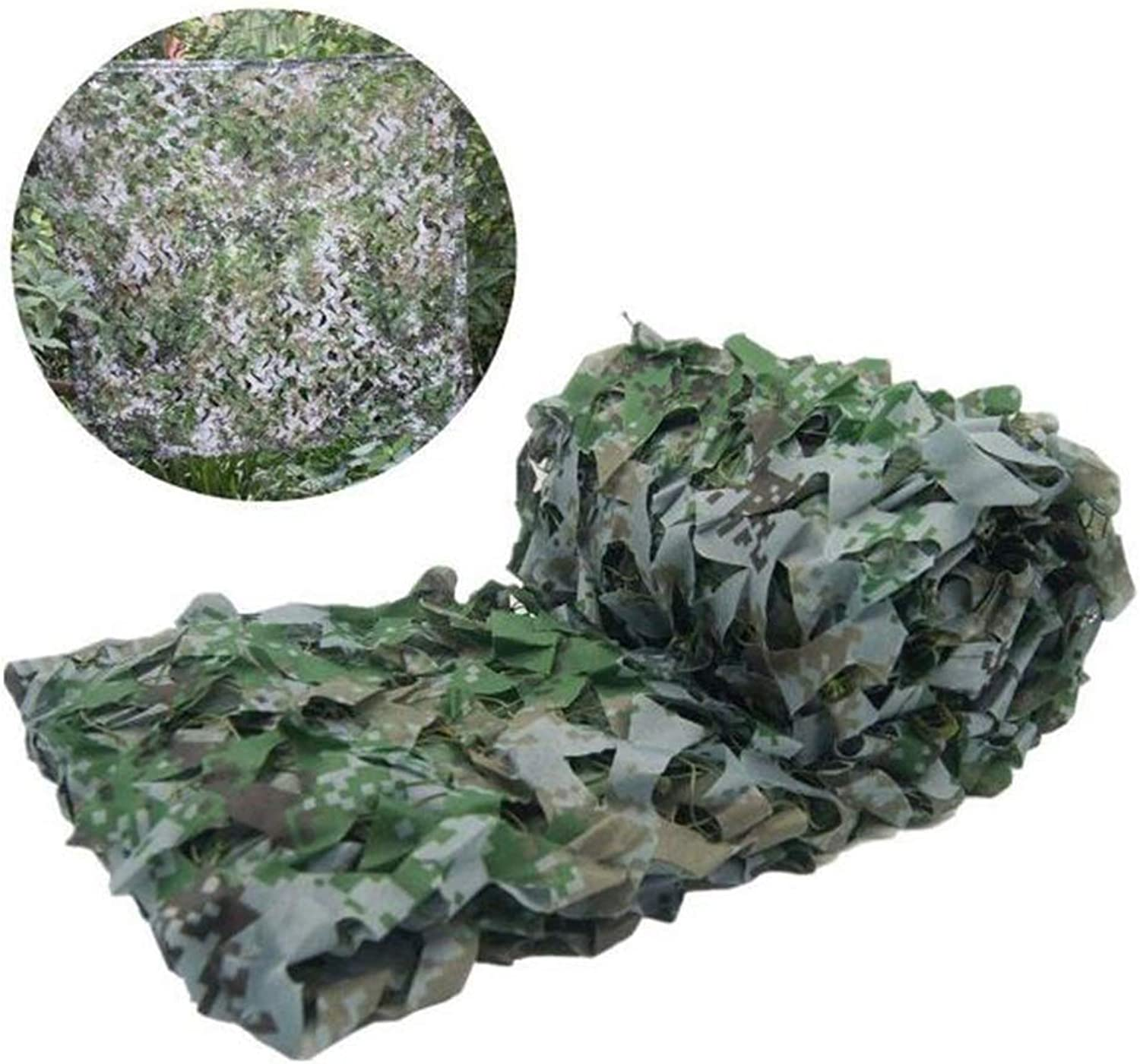 Outdoor Visor Camouflage Net Jungle Digital Camouflage Net Camping Shooting Camo Net 2x3m (Size   3x3m) (Size   3x6M)