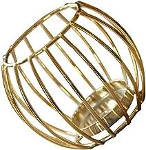 BESPORTBLE Metal Wire Tea Light Candle Holders Industrial Geometric Candle Holder Vintage Tealight Tea Light Burner Cup St...