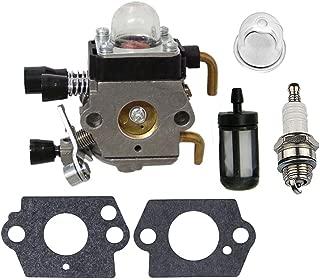 HIPA Carburetor + Gasket Primer Fuel Filter Spark Plug for STIHL FS75 FS80 FS85 FC75 FC85 HL75 HT70 HT75 SP85 KM80 KM85 Trimmer