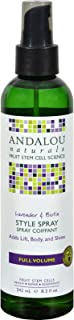 4 Pack of Andalou Naturals Full Volume Style Spray Lavender and Biotin - 8.2 fl oz