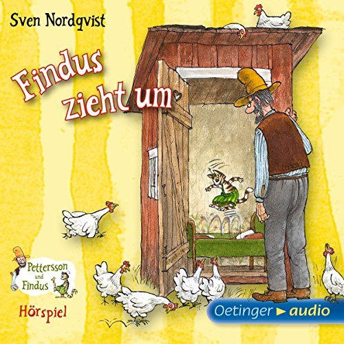 Findus zieht um audiobook cover art