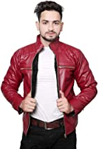 Nida Hot Released Faux Leather Jacket for Mens and Boys