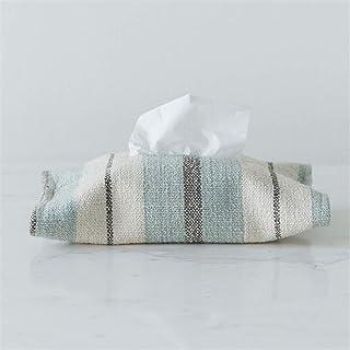 Dachengzi Tissue Box Fabric Cotton Linen Creative Multi-Function Desktop Car Bedroom Living Room,