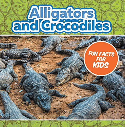 Alligators and Crocodiles Fun Facts For Kids: Animal Encyclopedia for Kids - Wildlife (Children's Animal Books) (English Edition)