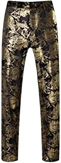 Best black and gold mens pants Reviews